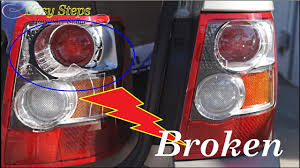 tail light lens assembly how to change broken tail lights tail lights assembly on range