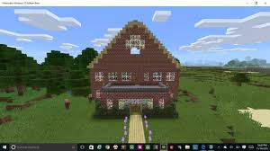 minecraft speedbuild two story four bedroom farmhouse windows 10