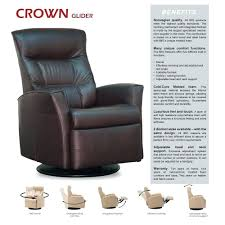 fabric swivel recliner chairs decoration luxury leather recliner chairs