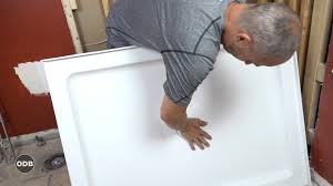 How Do You Install A Bathtub How To Install A Shower Pan Youtube