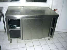 meuble cuisine arrondi meuble cuisine inox 6 meuble arrondi en bout dilot avec portes