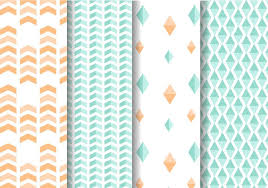 mint wrapping paper mint and geometric pattern vector free vector