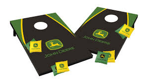 john deere kitchen canisters tailgate toss john deere game set u0026 reviews wayfair