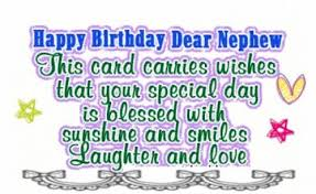 birthday cards for nephew top 70 birthday wishes and messages for nephew wishesgreeting