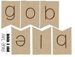 gobble gobble mini thanksgiving banner like a cherry