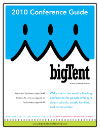 the 2010 bigtent conference guide by search institute issuu p