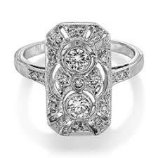 purebrilliant diamonds art deco style diamond ring diamond