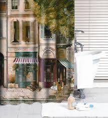 Paris Fabric Shower Curtain by Online Get Cheap Frame Bathroom Curtain Aliexpress Com Alibaba