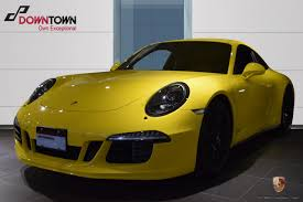 Porsche Macan Yellow - certified pre owned 2015 porsche 911 carrera gts