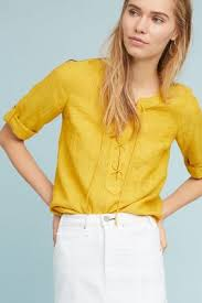 yellow blouse tops blouses 2018 anthropologie