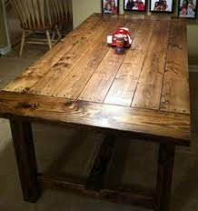 making a farmhouse table get yer toolbelt pinterest