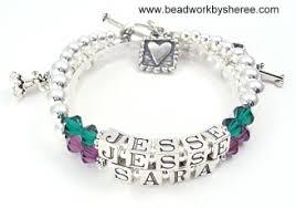 mothers bracelets s bracelets 2 strand custom s bracelets