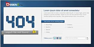 15 free and premium 404 error page html templates html5xcss3