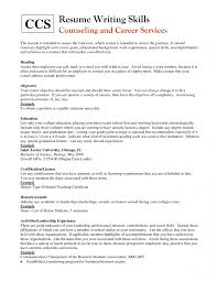 Examples Of Special Skills For Resume by Skills For A Resume