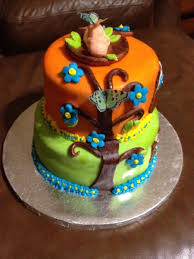 owl themed baby shower cakecentral com