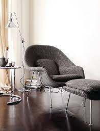 Saarinen Grasshopper Lounge Chair Womb Chair Design Within Reach
