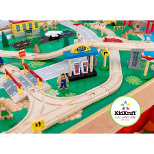 Brio Train Table Set Kidkraft Waterfall Mountain Train Set And Table Free Shipping