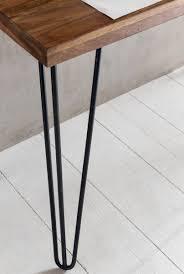 Schreibtisch 130 Finebuy Schreibtisch Haora Braun 130 X 60 X 76 Cm Massiv Holz