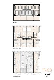 philadelphia row home floor plan brownstone house plans container design