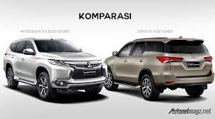 mobil honda terbaru 2015 komparasi toyota fortuner vs mitsubishi pajero sport