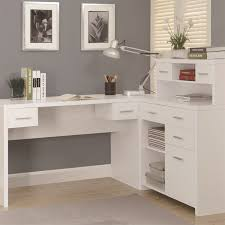 monarch specialties i7028 hollow core l shaped home office desk in