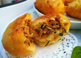 cara membuat donat isi ayam resep donat kentang isi ayam oleh arista hilman cookpad