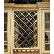 wine bottle cabinet insert wine lattices crafted out of a variety of hardwoods such as red