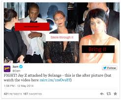 Solange Meme - image 754466 jay z and solange knowles elevator fight know