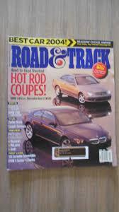road u0026 track magazine april 2004 head to head shootout rod