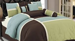 bedding set brown and blue bedding sets god blue comforter sets