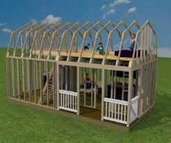 shed style homes plans for building shed homes
