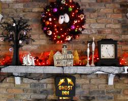 Halloween Tree With Ornaments by Halloween 2010 The Seasonal Home