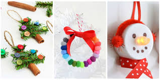 Homemade Christmas Tree Ornaments by 56 Unique Diy Christmas Ornaments Easy Homemade Ornament Ideas