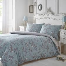 53 off home collection blue and grey u0027curious bird u0027 bedding set