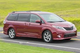 ferrari minivan toyota minivans research pricing u0026 reviews edmunds
