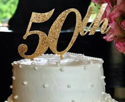 50th cake topper jewelry by rhonda wedding jewelry bridesmaid s jewelry cake