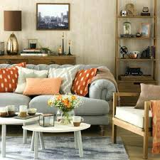mix and match living room furniture gray and orange living room orange and brown living room grey white