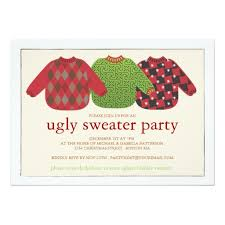 invitations simple sweater invitations designs