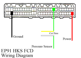 wiring diagram for fcd toyota gt turbo
