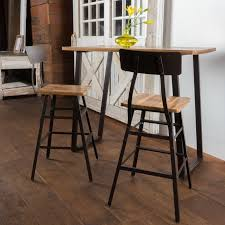 three piece table set laurel foundry modern farmhouse islemade 3 piece bar table set
