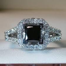 Black Diamond Wedding Rings by 94 Best Black Diamond Engagement Wedding Rings Images On Pinterest