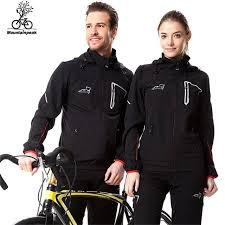 cycling windbreaker jacket men women cycling sets hiking softshell sets outdoor waterproof