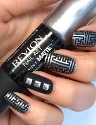 revlon nail art shiny matte nail enamel in
