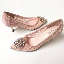 blush wedding shoes beaded bridal wedding shoes 2017 blush lace shoes for