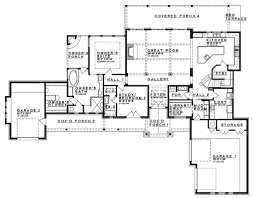 Craftsman Style House Floor Plans Craftsman Style House Plan 4 Beds 4 50 Baths 3238 Sq Ft Plan 935 11
