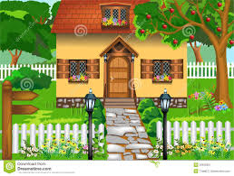Rustic House Simple Rustic House Stock Vector Image 50629307