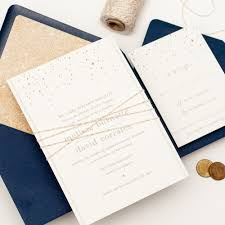 navy and gold wedding invitations plumegiant com