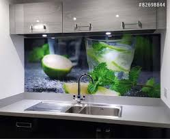 credence cuisine verre trempé crédence de cuisine en verre imprimé avec 20 remise nikkel fr