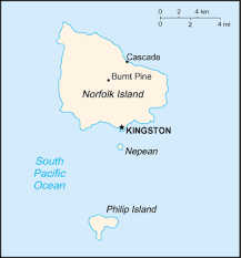 norfolk island google map driving directions and maps