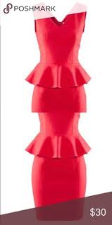 bcbg red peplum dress red peplum dresses peplum dresses and